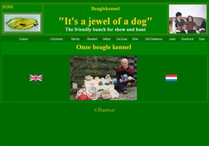 Beagle - Beagles.nl : kennel | Fokker It `s a jewel of a dog