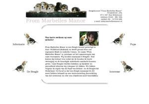 Beagle - Beagles.nl : kennel | Fokker From Marbelles Manor