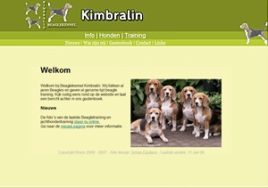 Beagle - Beagles.nl : kennel | Fokker Kimbralin